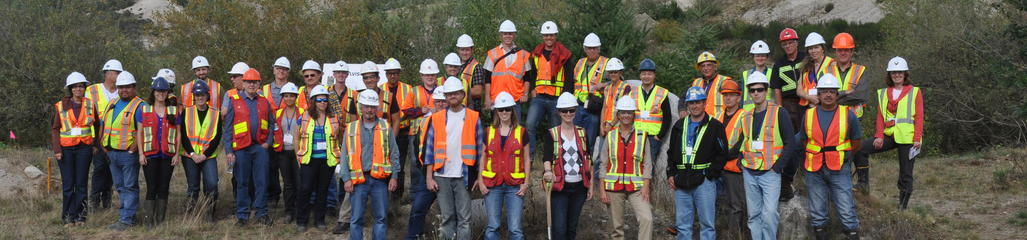 Residuals customers tour a mine where we manage residuals in an award winning reclamation program.