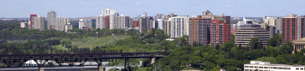 SYLVIS's Edmonton office is located on the bank of the North Saskatchewan river.